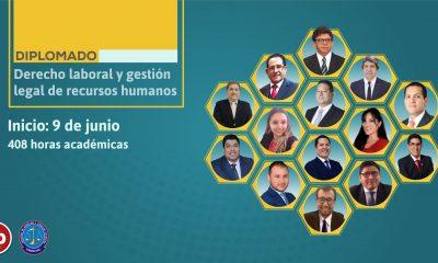 Diplomado de actualización en derecho laboral y gestión legal de recursos humanos. Inicio 9 de junio