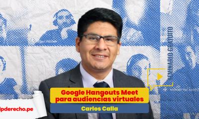 Cómo usar Google Hangouts Meet en audiencias virtuales