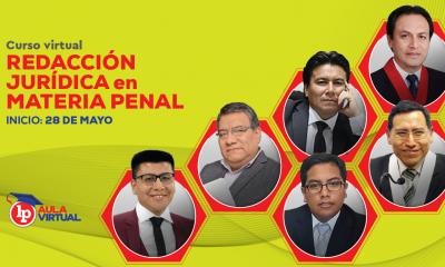 Curso de redacción jurídica en materia penal. Inicio: 28 de mayo