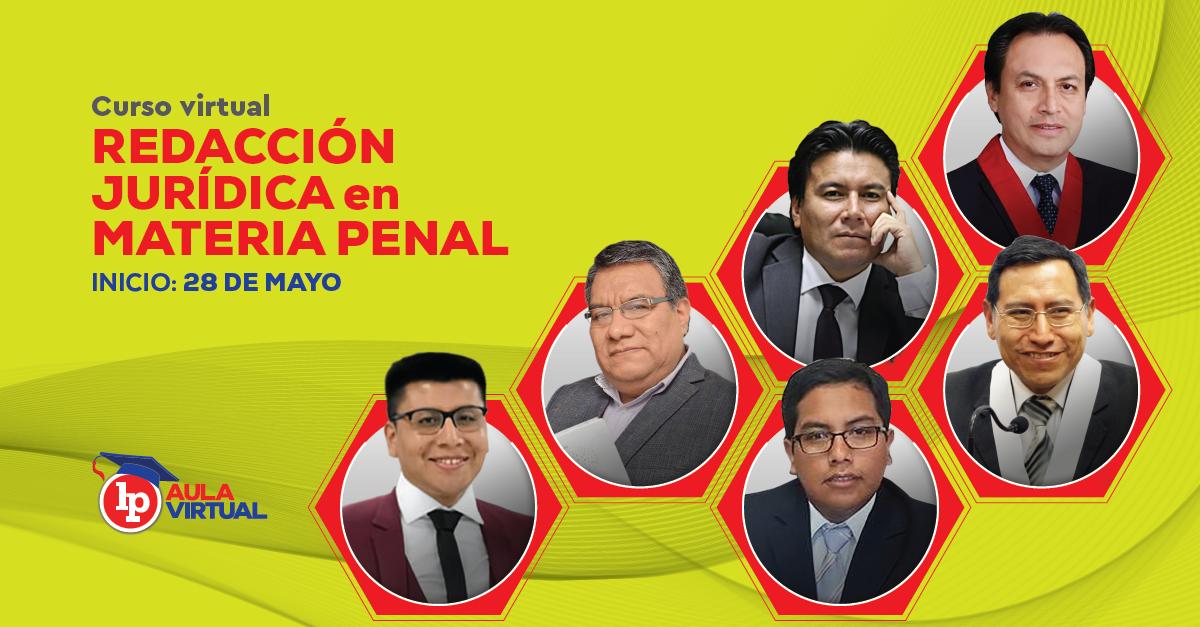 Redaccion juridica penal LP