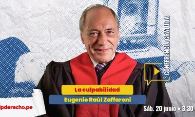 Conferencia gratuita: la culpabilidad, por Eugenio Raúl Zaffaroni